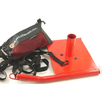 Muscle Driver USA Speed Sled in Red