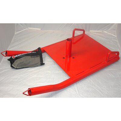 Muscle Driver USA Power Sled in Red