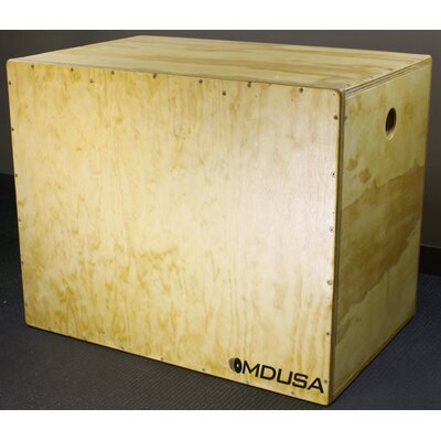 Muscle Driver USA USA 3-in-1 Wooden Plyo Box