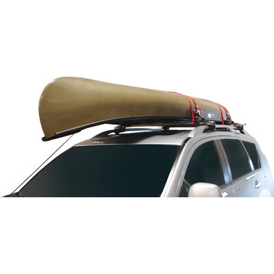 Malone Auto Racks Big Foot Pro Universal Car Rack Canoe Carrier with Bow and Stern Lines