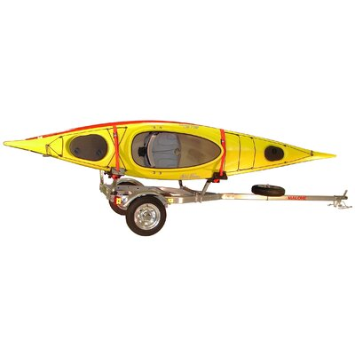 Malone Auto Racks MicroSport Trailer for Kayaks, Canoes and Bikes