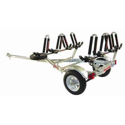 Malone Auto Racks MicroSport Trailer Package: 1-Trailer, 1-Spare Tire Kit, 4-JPro2
