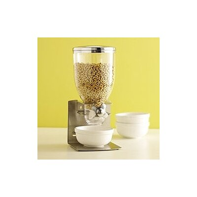 Zevro Pro Indispensable Dispenser With Countertop Stand in Silver
