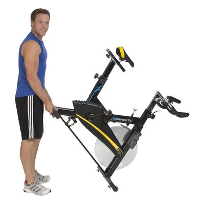 Exerpeutic Fitness LX9 Super High Capacity Indoor Training Cycling Bike