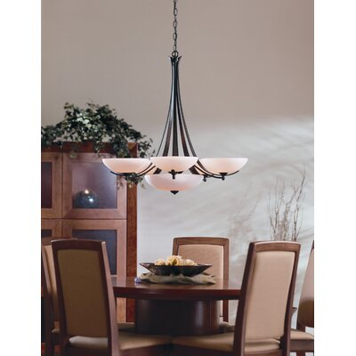 Hubbardton Forge Aegis 6 Light Chandelier