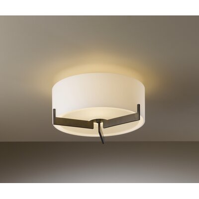 Hubbardton Forge Axis Small 1 Light Semi Flush Mount