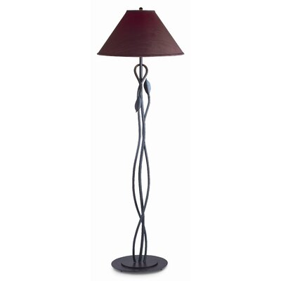 Hubbardton Forge Leaf 1 Light Floor Lamp with Oval Base