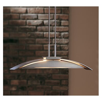 Hubbardton Forge Bent Plane 2 Light Pendant