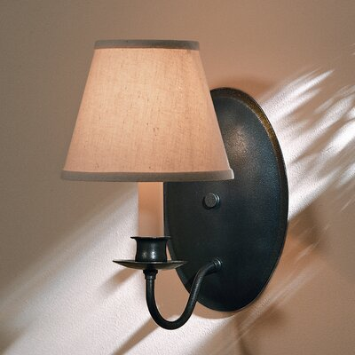 Hubbardton Forge 1 Light Oval Back Wall Sconce