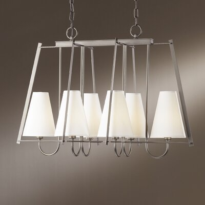 Hubbardton Forge Crown Pointe 6 Light Chandelier