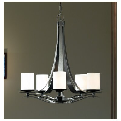 Hubbardton Forge Berceau 5 Light Chandelier