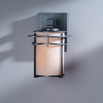 Hubbardton Forge Exos Wave 1 Light Outdoor Wall Sconce