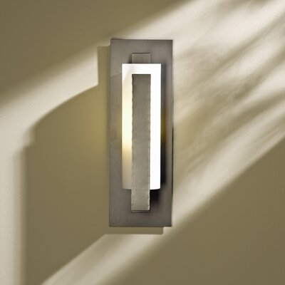 Hubbardton Forge 1 Light Vertical Bar Wall Sconce | Wayfair