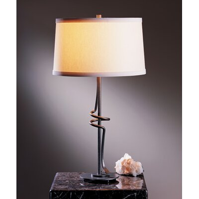 Hubbardton Forge Coil Twist 1 Light Table Lamp