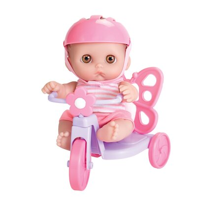 JC Toys Lil' Cutesies Butterfly Tricycle Doll