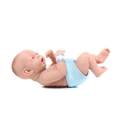 "JC Toys La Newborn - 14"" Anatomically Real Boy Vinyl Doll"