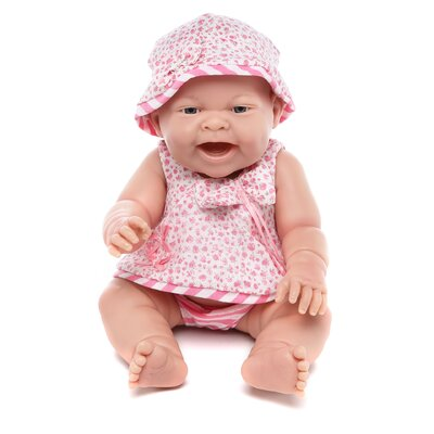 JC Toys Berenguer Boutique Lola Pink Dress Girl Doll