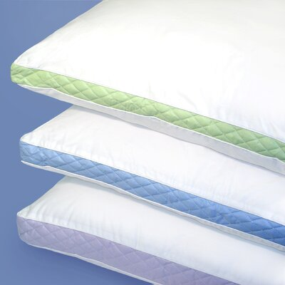 Firm Density 233 Thread-Count Quilted Sidewall Pillow (Set of 2)
