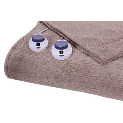 Perfect Fit Industries Triple Rib Electric Heated Warming Throw