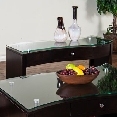 Espresso Console Table