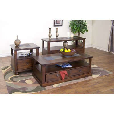 Sunny Designs Santa Fe Coffee Table with Casters