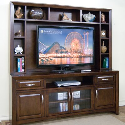 Sunny Designs Cappuccino Entertainment Center