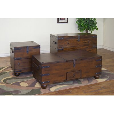Sunny Designs Santa Fe Trunk Coffee Table Set
