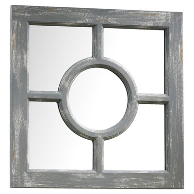 Cyan Design Ashford Mirror in Distressed Gray