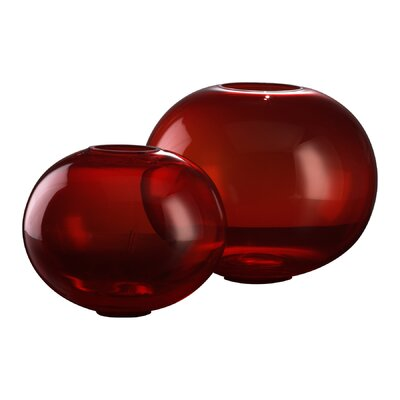 Cyan Design Small Pod Vase in Red