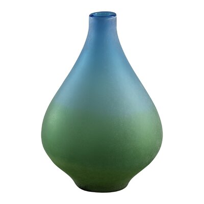 Cyan Design Medium Vizio Vase in Blue and Green