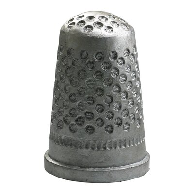 Cyan Design Sewing Thimble Token in Pewter