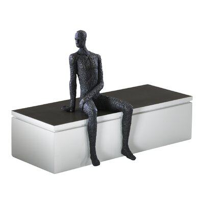 Posing Man Shelf Decor Figurine