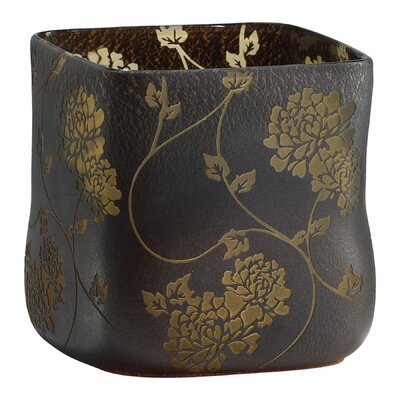 Cyan Design Medium Chinese Flower Vase in Brown