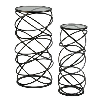 Spiral End Table(Set of 2)