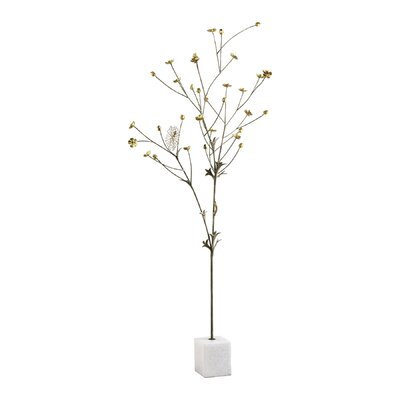 Cyan Design Flowering Tree in Bronze