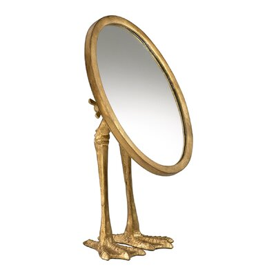Cyan Design Duck Leg Mirror in Gold