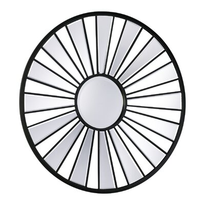 Cyan Design Segment Round Mirror in Old World