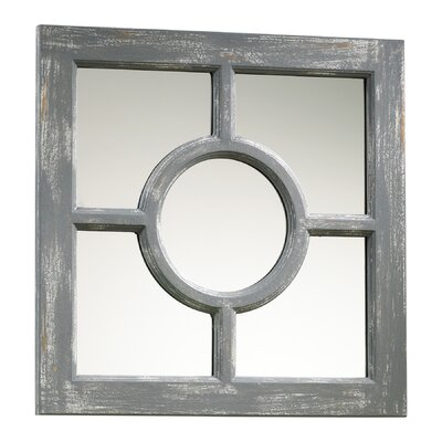 Ashford Mirror in Distressed Gray
