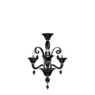 Cyan Design Trviso 3 Light Murano Chandelier