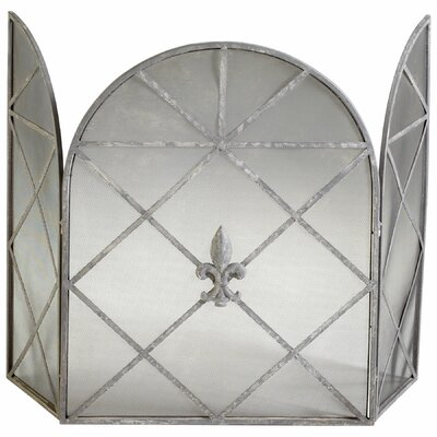 Caswell Fire Screen in Rustic Gray