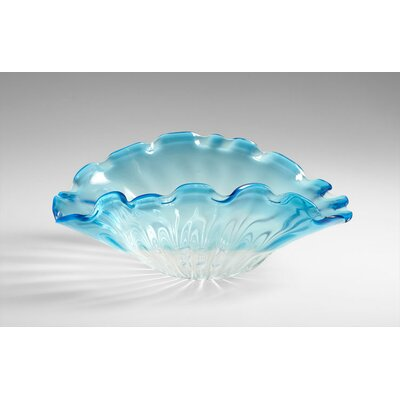 Small Weymouth Bowl in Cobalt Blue