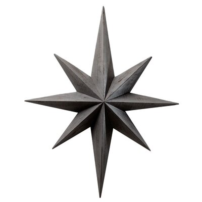 Cyan Design Star Wall Decoration in Distressed Gray