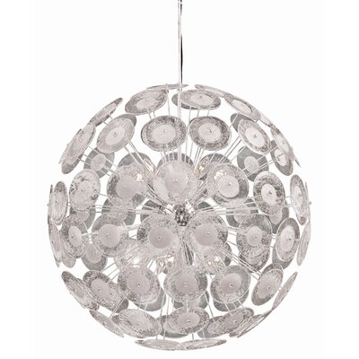 Cyan Design Dandelion 10 Light Globe Pendant