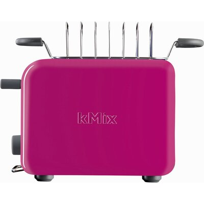 DeLonghi kMix 2-Slice Toaster in Magenta