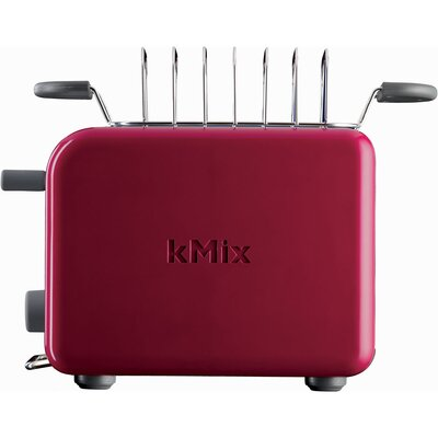 DeLonghi kMix 2-Slice Toaster in Red
