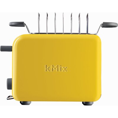 Delonghi kMix 2-Slice Toaster in Yellow