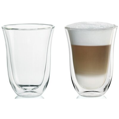 DeLonghi Latte Glasses (Set of 2)