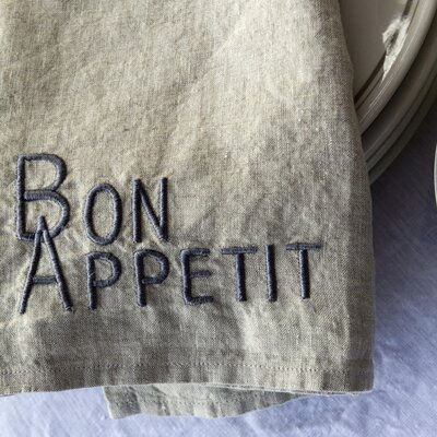 Pom Pom At Home Bon Appetit Napkin (Set of 4)