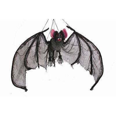 Fun World Wing Span Hanging Bat Decor
