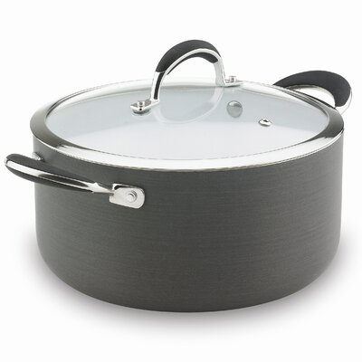 Vinaroz Vitoria Series 6-qt. Stock Pot with Lid